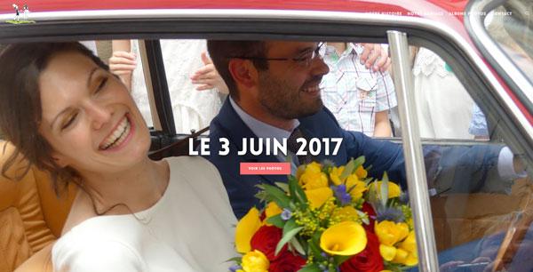 Clément et Julie se marient
