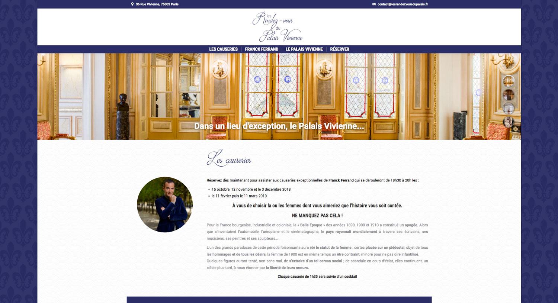 Les Rendez-vous du Palais Vivienne