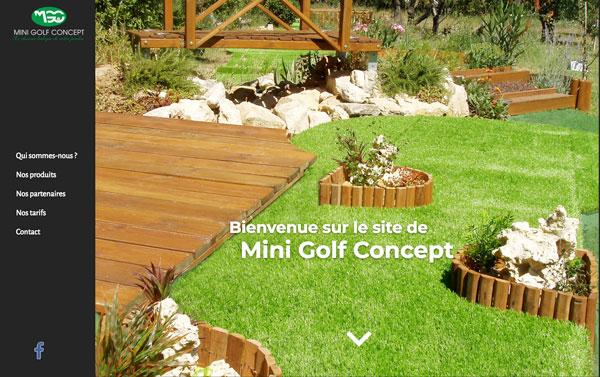 Mini Golf Concept